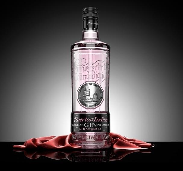 Gin puerto de indias fresa - Puerto de indias strawberry gin ...
