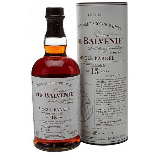 BALVENIE SINGLE BARREL15 AÑOS