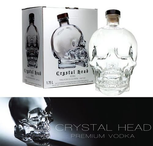 VODKA CRYSTAL HEAD 1,75 CL