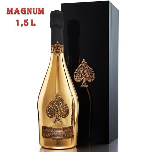 ARMAND DE BRIGNAC BRUT GOLD MAGNUM (WOODEN BOX)