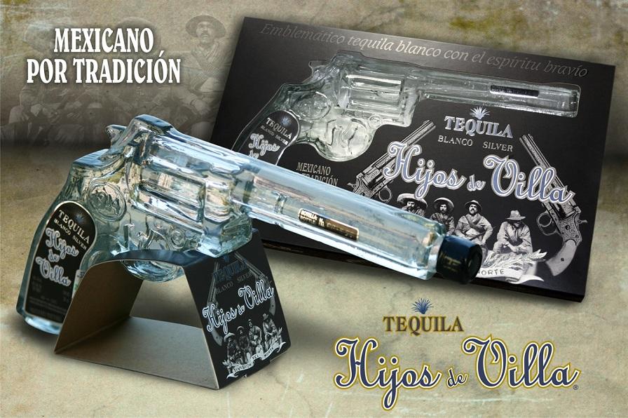 Pistola Hijos De Villa Tequila Blanco