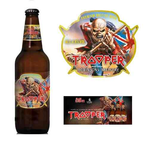 CERVEZA IRON MAIDEN - TROOPER 500 Ml.