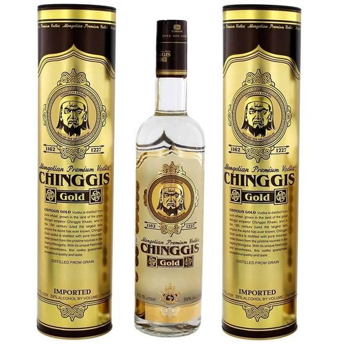 VODKA CHINGGIS GOLD
