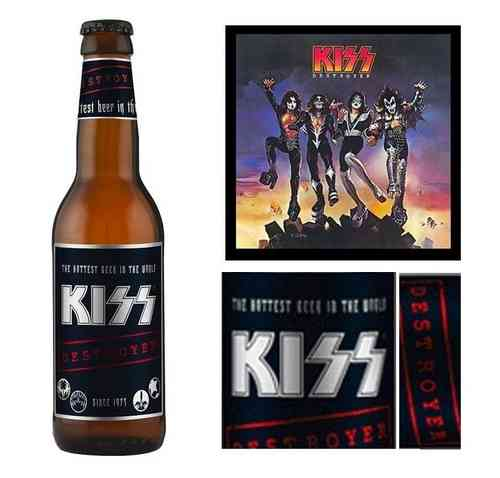 CERVEZA KISS - DESTROYER