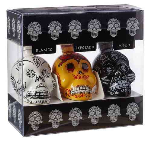 TEQUILAS KAH - PACK 3x50 ML
