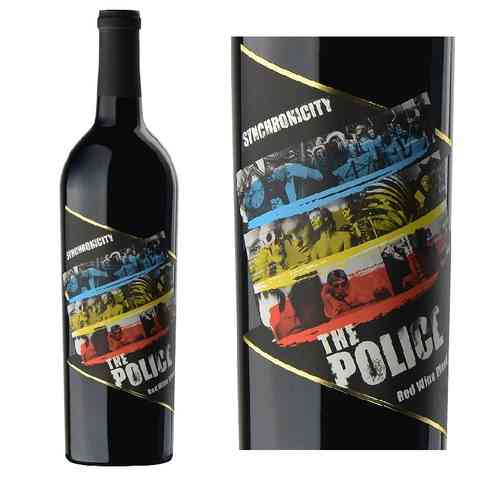 THE POLICE WINE - SYNCHRONICITY