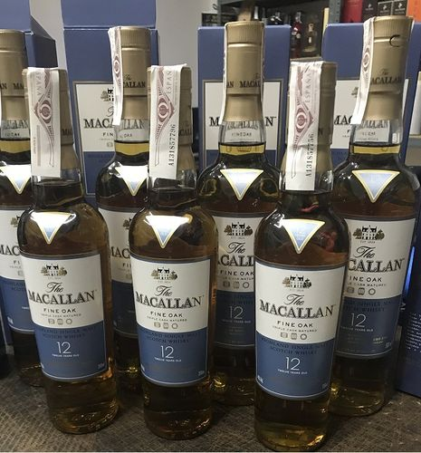 MACALLAN 12 AÑOS (350 ML)
