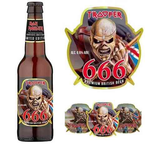 CERVEZA IRON MAIDEN - TROOPER 666