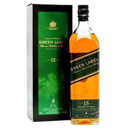 JOHNNIE WALKER GREEN (LITRO)
