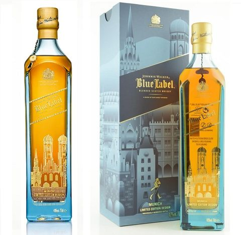 "JOHNNIE WALKER BLUE LABEL ""MUNICH EDITION"""