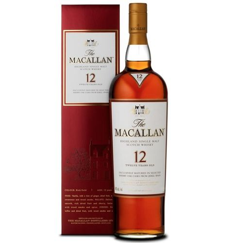 MACALLAN 12 AÑOS SHERRY OAK