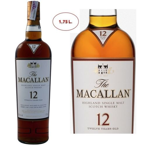 MACALLAN 12 SHERRY OAK 1,75 L