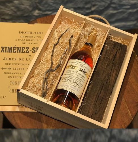 XIMENEZ SPINOLA BRANDY - THE CHESTNUT EXPERIENCE