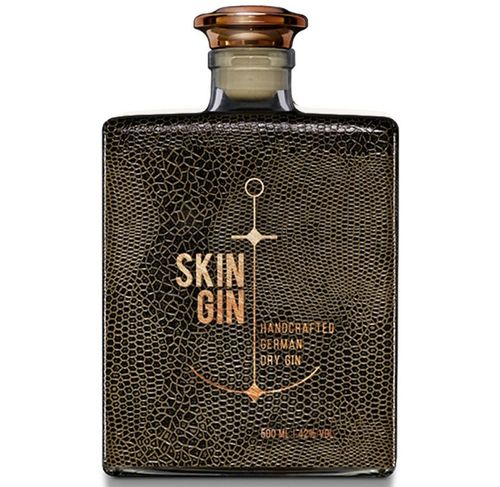 GIN SKIN REPTILE BROWN