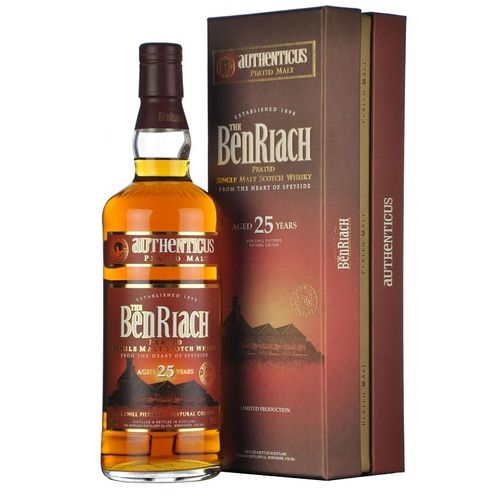 BENRIACH 25 AUTHENTICUS