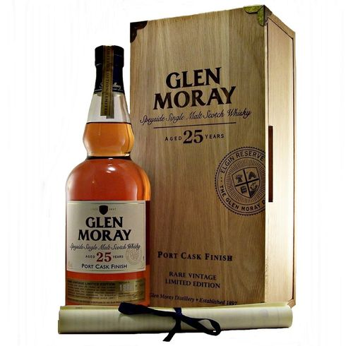 GLEN MORAY 25 AÑOS PORT CASK