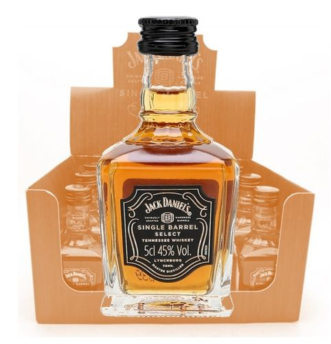 JACK DANIEL´S SINGLE BARREL SELECT (MINIATURA 5 CL)