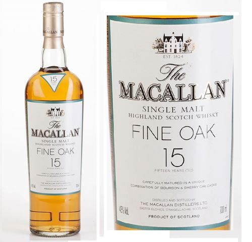 MACALLAN 15 FINE OAK (OLD)