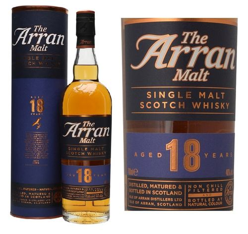 THE ARRAN 18 AÑOS