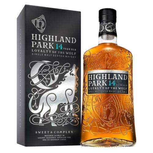 HIGHLAND PARK 14 AÑOS - LOYALTY OF THE WOLF