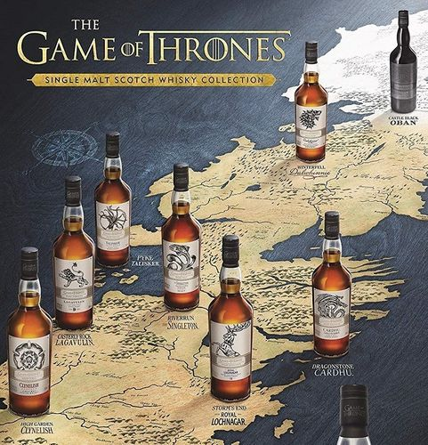 JUEGO DE TRONOS - HBO - WHISKY COLLECTION by DIAGEO