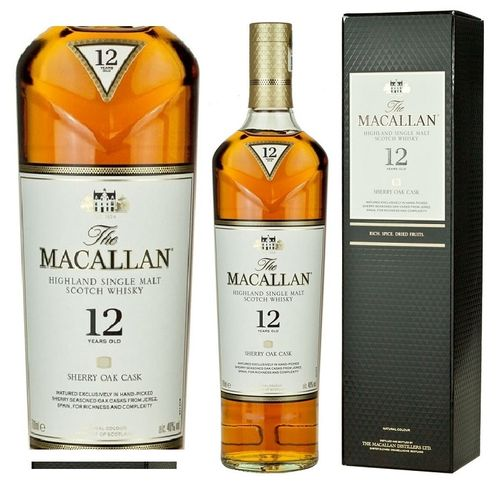 MACALLAN 12 SHERRY OAK CASK