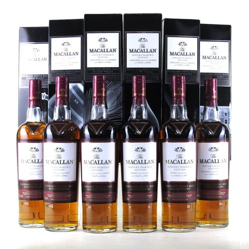 MACALLAN MAKER´S EDITION x 6