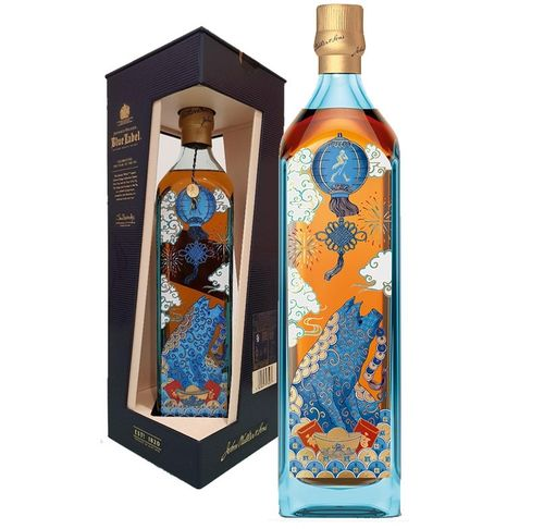 "JOHNNIE WALKER BLUE LABEL ""YEAR OF THE PIG"""