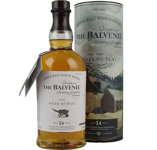 THE BALVENIE 14 AÑOS THE WEEK OF PEAT