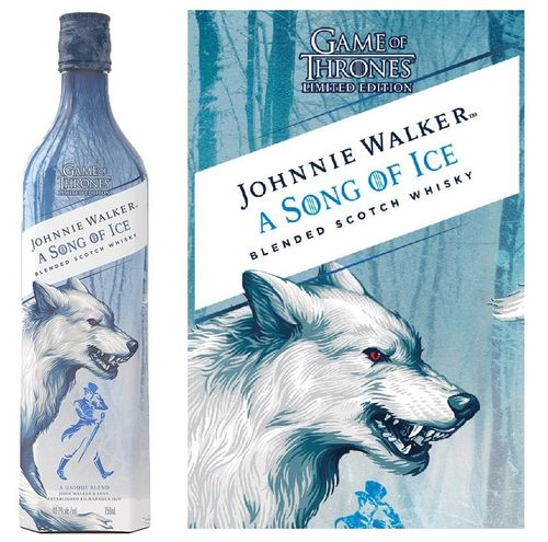 JOHNNIE WALKER A SONG OF ICE (GAME OF THRONES)