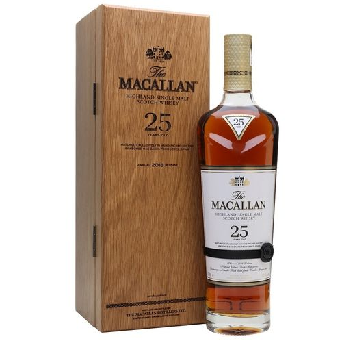 MACALLAN 25 SHERRY OAK - 2018