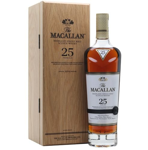 MACALLAN 25 SHERRY OAK - 2019