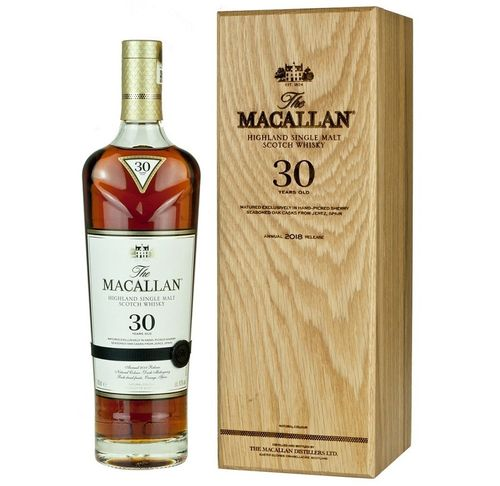 MACALLAN 30 SHERRY OAK - 2018