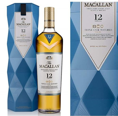 MACALLAN 12 AÑOS TRIPLE CASK SPECIAL EDITION (2019)