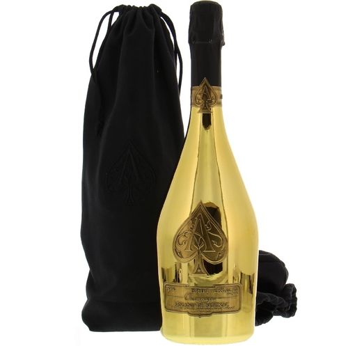 ARMAND DE BRIGNAC BRUT GOLD (VELVET BAG)