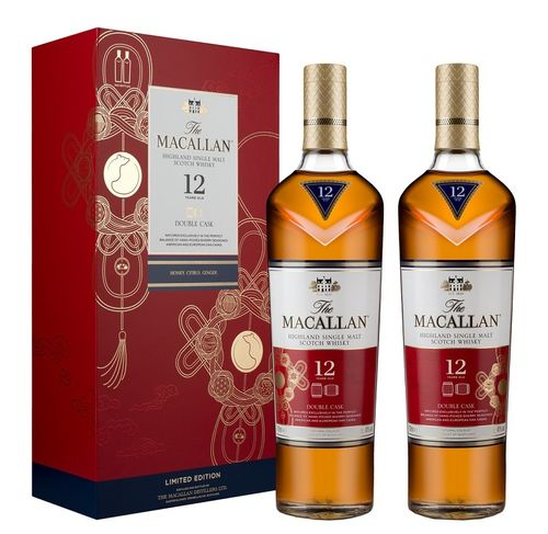MACALLAN 12 AÑOS DOUBLE CASK LUNAR NEW YEAR (2020)