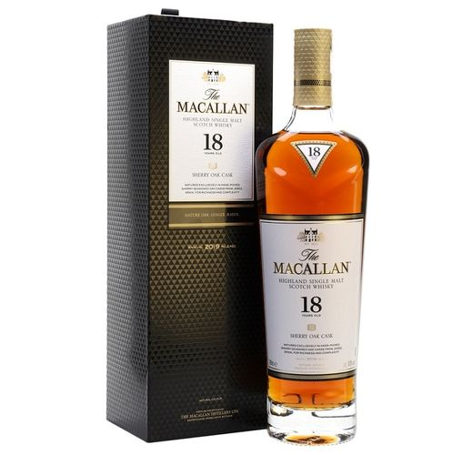 MACALLAN 18 SHERRY OAK CASK